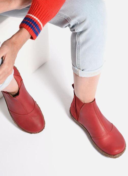 Bottines et boots El Naturalista Nido Ella N786 Bleu vue bas / vue portée sac