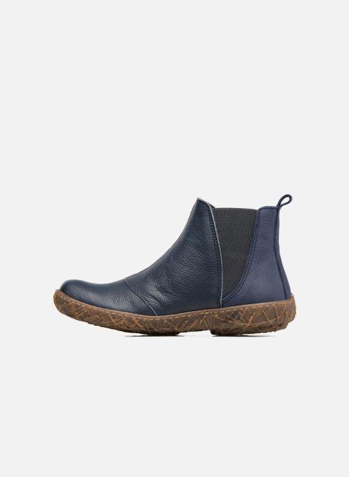 Ankle boots El Naturalista Nido Ella N786 Blue front view