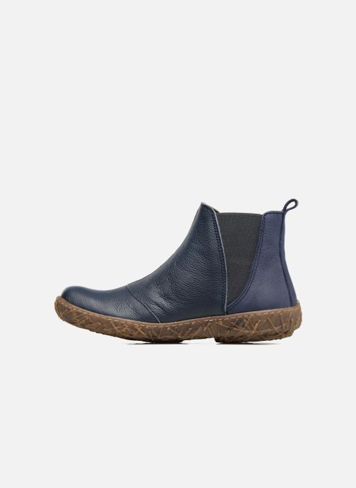 Ankle boots El Naturalista Nido Ella N786 Blue front view