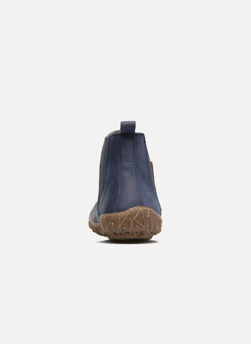 Ankle boots El Naturalista Nido Ella N786 Blue view from the right