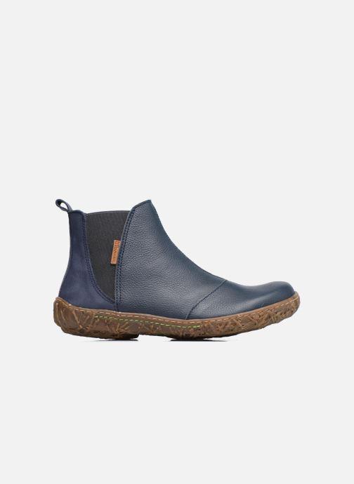 Ankle boots El Naturalista Nido Ella N786 Blue back view