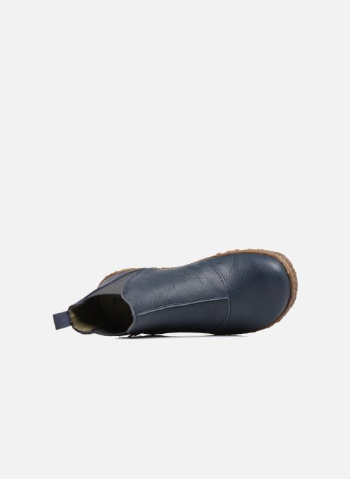 Bottines et boots El Naturalista Nido Ella N786 Bleu vue gauche