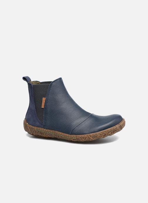 Ankle boots El Naturalista Nido Ella N786 Blue detailed view/ Pair view