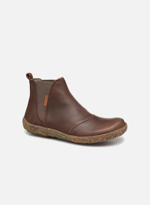 Ankle boots El Naturalista Nido Ella N786 Brown detailed view/ Pair view