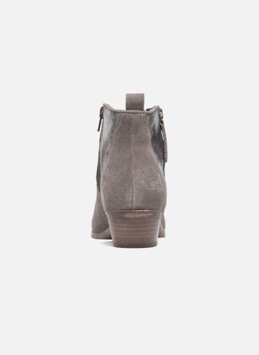 Bottines et boots Kaporal Nayade Gris vue droite