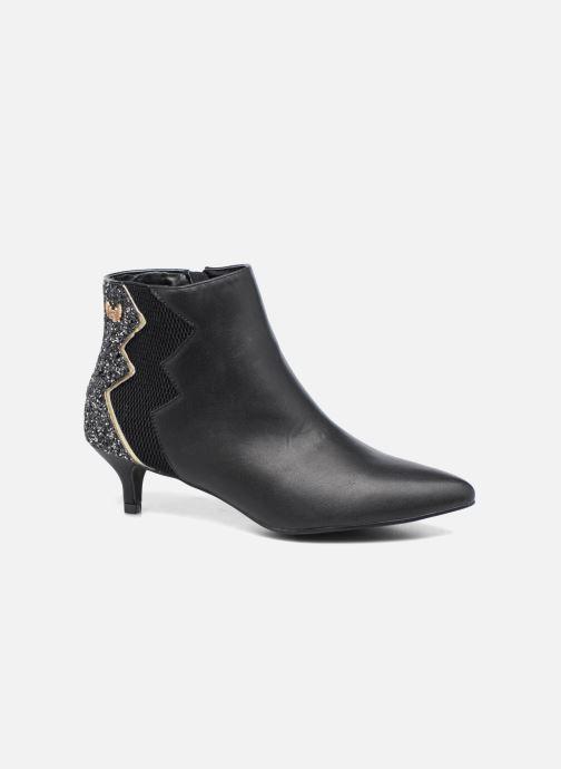 Boots en enkellaarsjes Kaporal Sampa Zwart detail