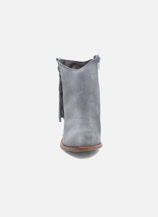 Bottines et boots Kaporal Texane Gris vue portées chaussures