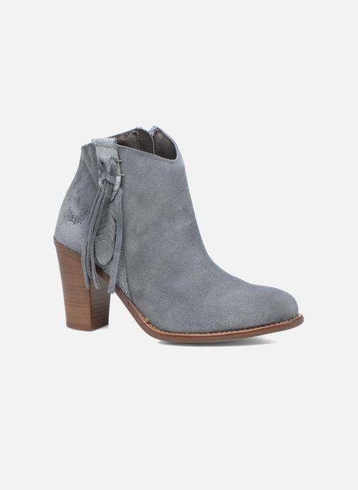 Bottines et boots Kaporal Texane Gris vue détail/paire