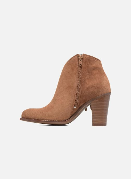 Ankle boots Kaporal Texane Brown front view