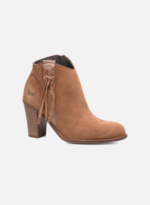 Ankle boots Kaporal Texane Brown detailed view/ Pair view