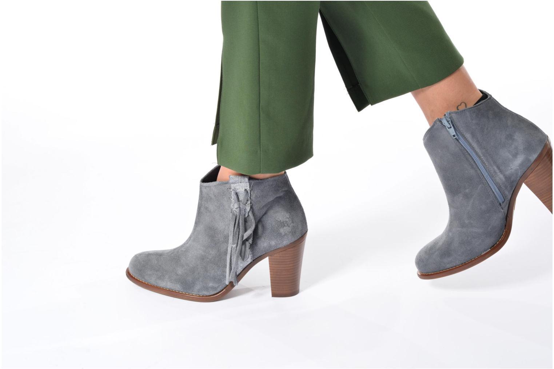 Boots en enkellaarsjes Kaporal Texane Grijs onder