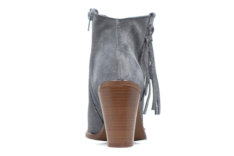 Boots en enkellaarsjes Kaporal Texane Grijs rechts