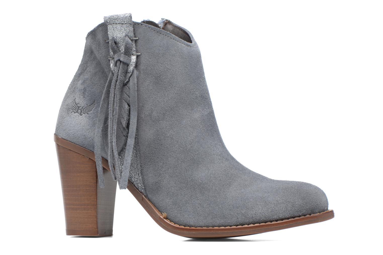Boots en enkellaarsjes Kaporal Texane Grijs achterkant
