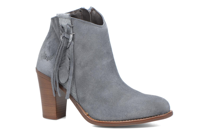 Boots en enkellaarsjes Kaporal Texane Grijs detail