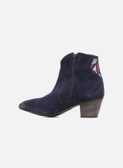 Boots en enkellaarsjes Kaporal Vuber Blauw voorkant