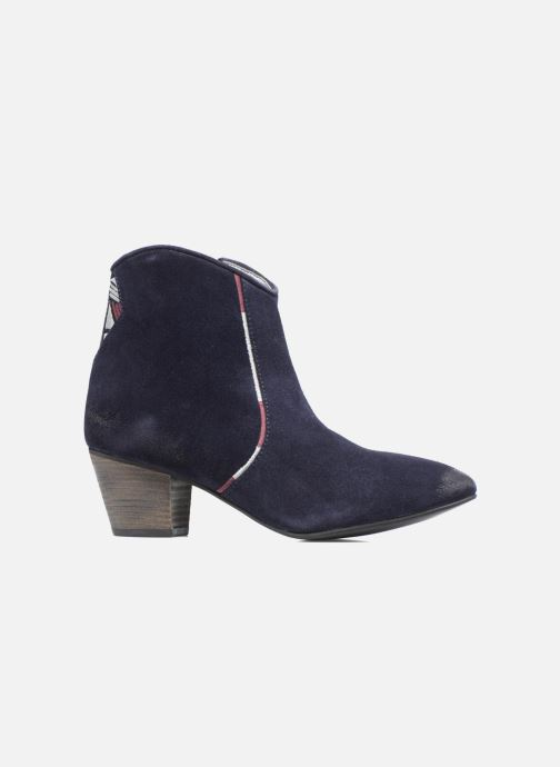 Ankle boots Kaporal Vuber Blue back view