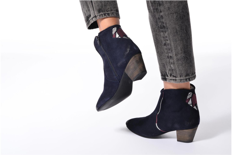 Boots en enkellaarsjes Kaporal Vuber Zwart onder