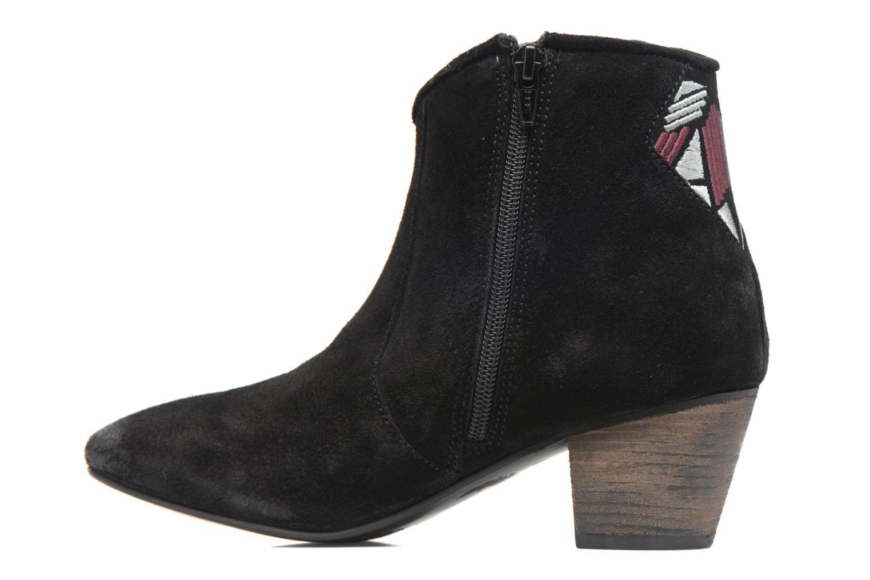 Boots en enkellaarsjes Kaporal Vuber Zwart voorkant