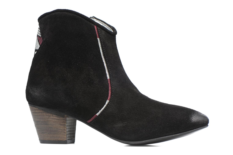 Boots en enkellaarsjes Kaporal Vuber Zwart achterkant