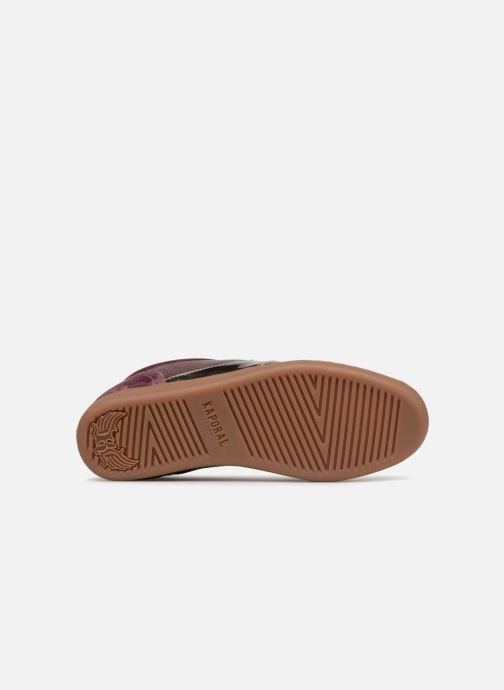 Baskets Kaporal Katala Bordeaux vue haut