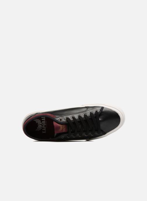 Sneakers Kaporal Kafe Sort se fra venstre