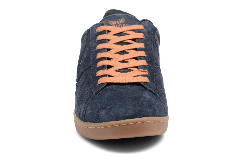 Baskets Kaporal Kaiser Bleu vue portées chaussures