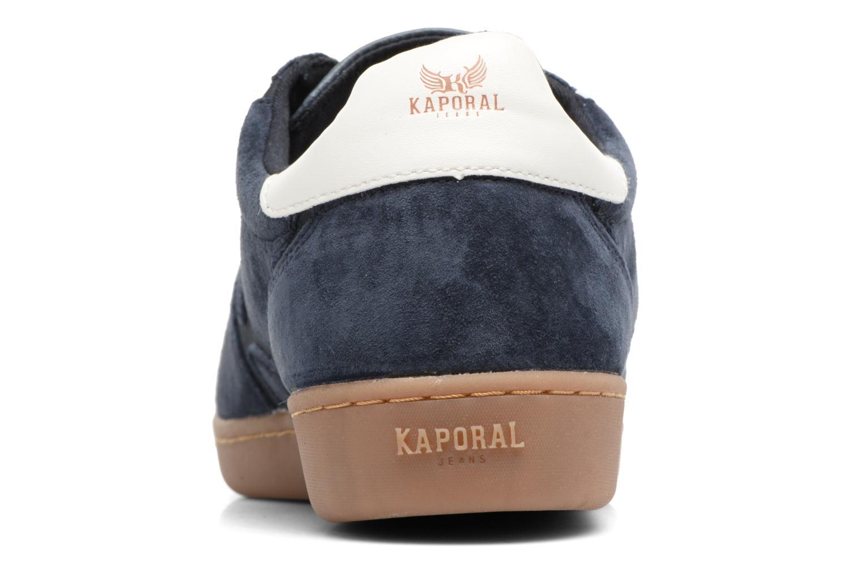 Baskets Kaporal Kaiser Bleu vue droite