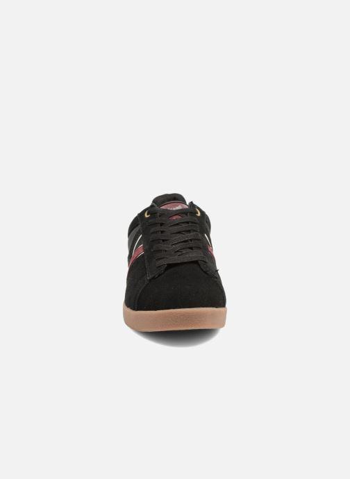 Baskets Kaporal Kaki Noir vue portées chaussures