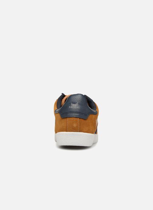 Baskets Kaporal Kaki Marron vue droite