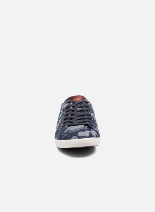 Baskets Kaporal Kaoan Bleu vue portées chaussures
