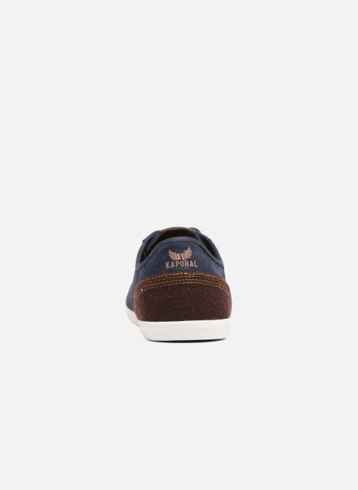 Baskets Kaporal Karati Bleu vue droite