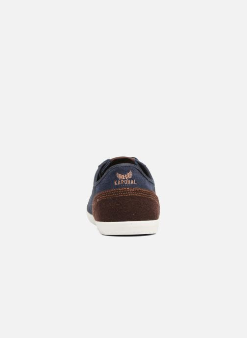 Trainers Kaporal Karati Blue view from the right