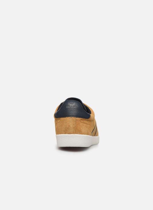 Baskets Kaporal Kanior Jaune vue droite