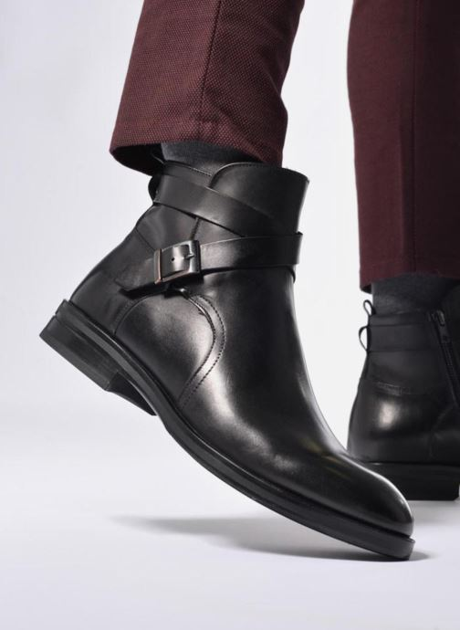 Bottines et boots Marvin&Co Teddy Marron vue bas / vue portée sac