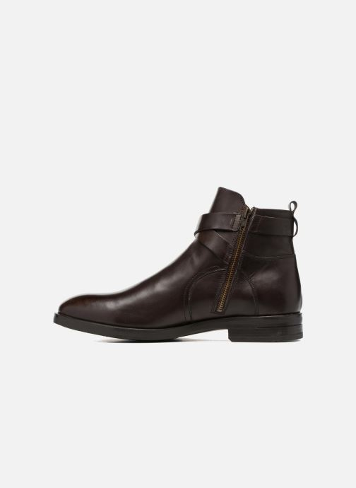 Bottines et boots Marvin&Co Teddy Marron vue face