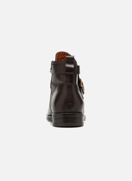 Bottines et boots Marvin&Co Teddy Marron vue droite