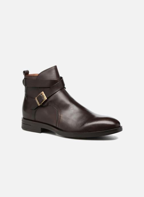 Bottines et boots Marvin&Co Teddy Marron vue détail/paire