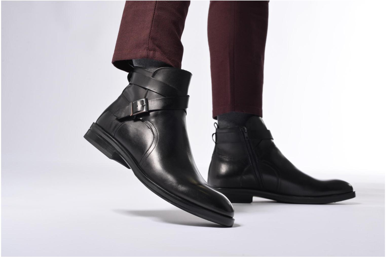 Bottines et boots Marvin&Co Teddy Noir vue bas / vue portée sac