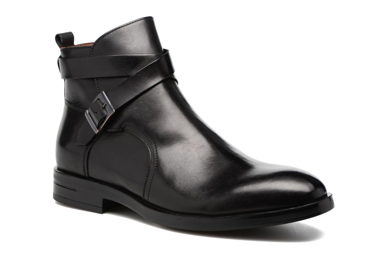 Boots en enkellaarsjes Marvin&Co Teddy Zwart detail