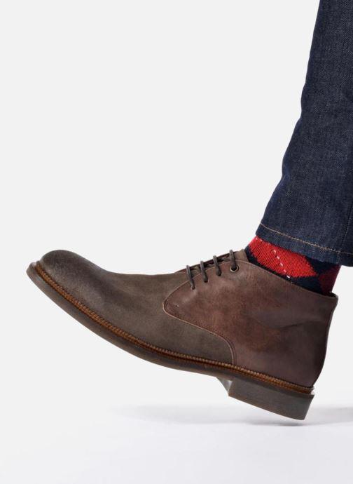 Zapatos con cordones Marvin&Co Tellington Marrón vista de abajo