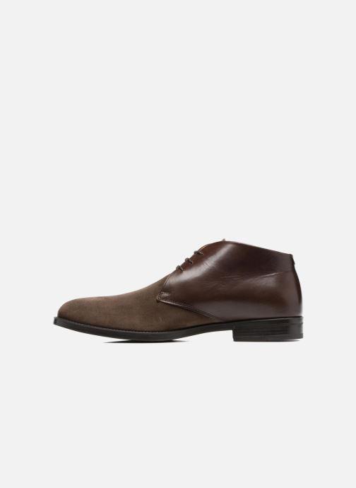 Zapatos con cordones Marvin&Co Tellington Marrón vista de frente