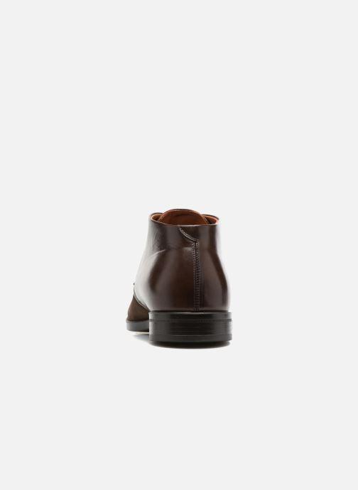 Zapatos con cordones Marvin&Co Tellington Marrón vista lateral derecha