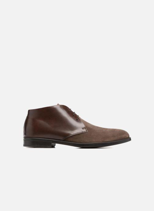 Zapatos con cordones Marvin&Co Tellington Marrón vistra trasera