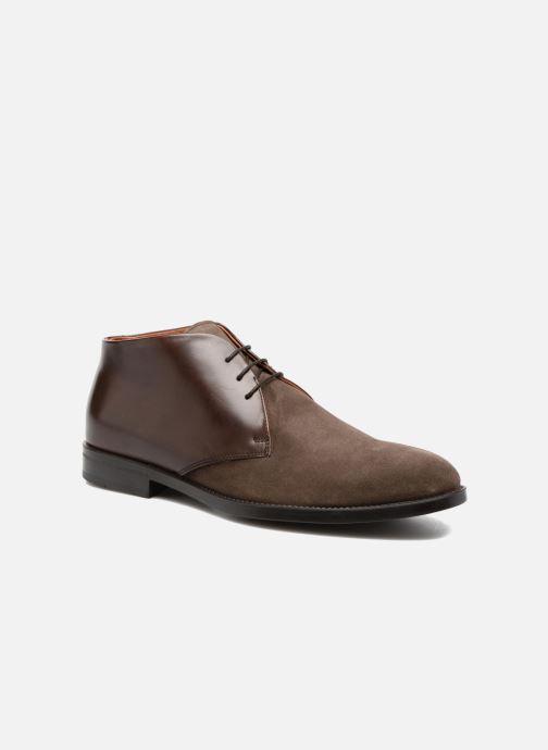 Zapatos con cordones Marvin&Co Tellington Marrón vista de detalle / par