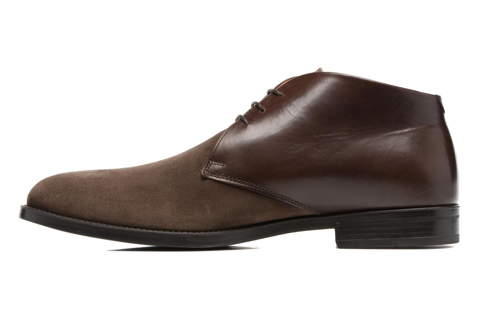 Chaussures à lacets Marvin&Co Tellington Marron vue face