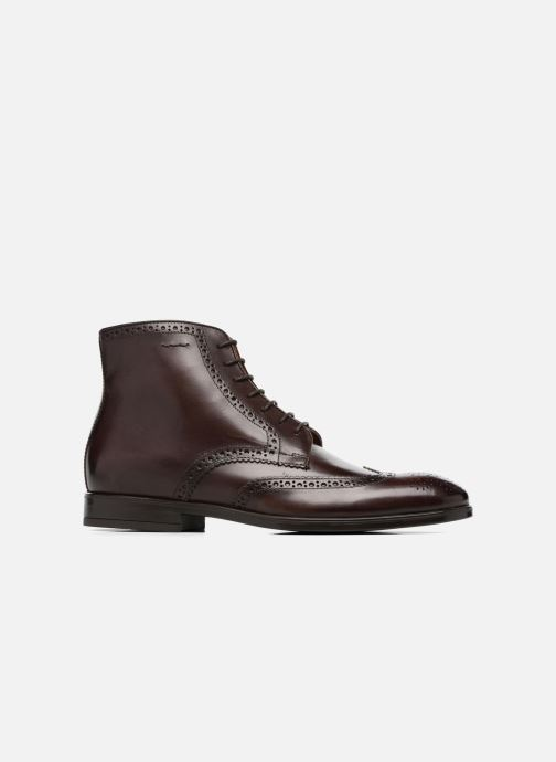 Ankle boots Marvin&co Thomley Brown back view