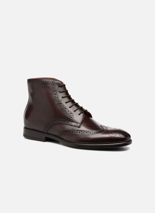 Bottines et boots Marvin&Co Thomley Marron vue détail/paire