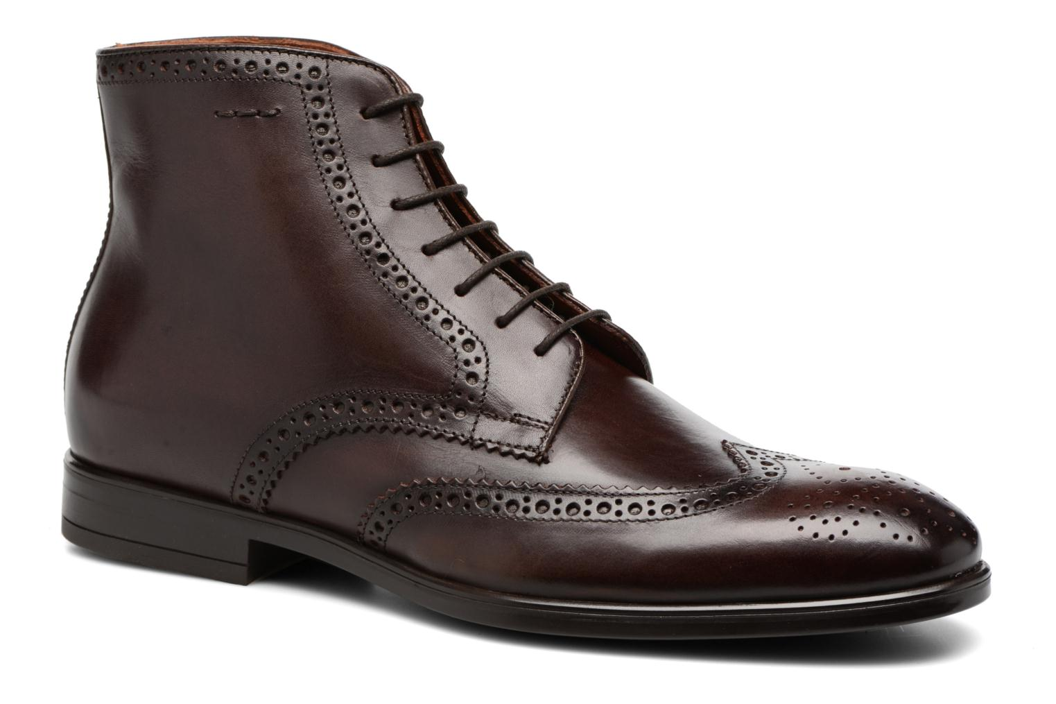 Ankle boots Marvin&co Thomley Brown detailed view/ Pair view