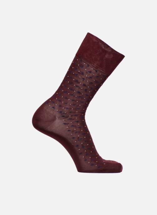 Sokken en panty's Falke Chaussettes Sens Jabot Bordeaux detail