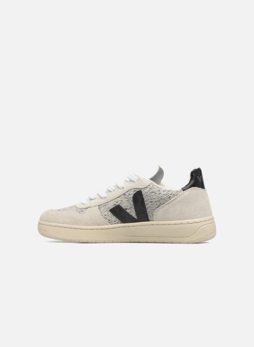 Sneakers Veja V-10 Beige voorkant